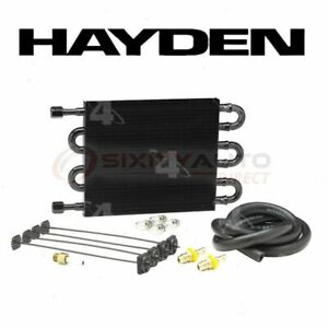 Hayden Automatic Transmission Oil Cooler For 1967 1982 Toyota Corona Fq