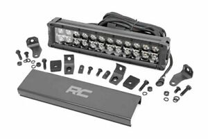 Rough Country 12 Led Light Bar Cree Black Series Daytime Running Light Feature