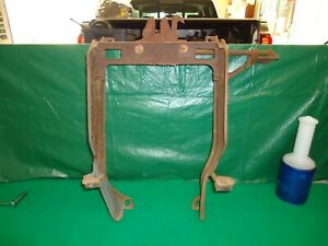 1971 1972 Cougar Hood Latch Support Assembly D1wb 169 Xr7 D1wf