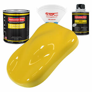 Restoration Shop Daytona Yellow Acrylic Enamel Quart Kit Auto Paint