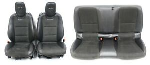 2012 2015 Camaro Zl1 Factory Leather Seat Set W Suede Inserts Used Oem Gm