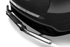 Stainless Rear Bumper Guard With Step Fits 06 18 Toyota Rav4