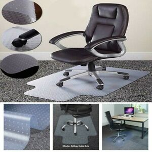 Home Office Computer Desk Chair Mat Heavy Duty Low Pile Carpet Floor Protection