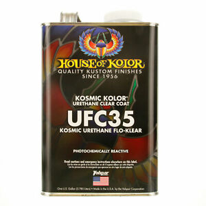 1 Gallon Kosmic Acrylic Urethane Flo Klear House Of Kolor Hok Topcoat Clear