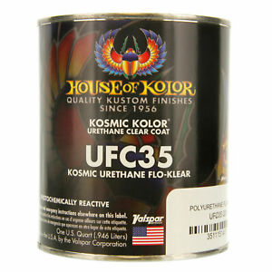 1 Quart Kosmic Acrylic Urethane Flo Klear House Of Kolor Hok Topcoat Clear