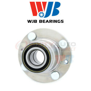 Wjb Wheel Bearing Hub Assembly For 1992 1996 Mazda Mx 3 1 6l 1 8l L4 V6 Rc