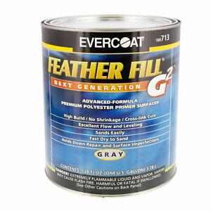 Evercoat Feather Fill G2 Gray Polyester Primer Surfacer Auto Paint