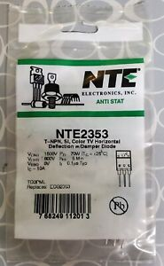 Nte2353 T npn Power Transistor To 3pml Replaces Ecg2353