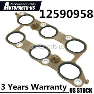 Lower Intake Manifold Gasket For Chevrolet Buick Cadillac Gmc 3 6l 12673300