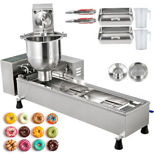 Commercial Donut Maker Doughnut Making Machine 3 Sets Free Mold Full Automatic