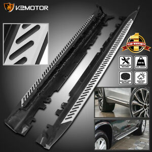 For 2014 2018 Bmw X5 F15 Side Step Nerf Bars Running Boards Aluminum Left right