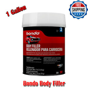 Bondo Body Filler Car Paint Body Paint Fillers Auto Body Repair Easily 1 Gal