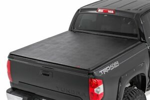 Rough Country Soft Tri fold fits 2014 2020 Toyota Tundra 6 5 Ft Bed tonneau