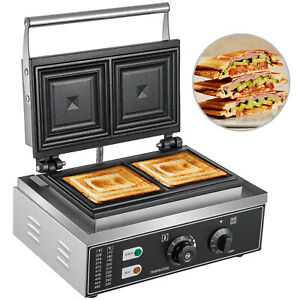 Commercial Sandwich Machine Electric Sandwich Grill Oven 2 slice Sandwich Maker