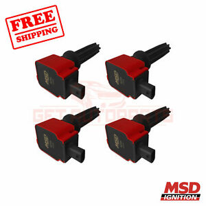 Msd Ignition Coil Fits Ford Mustang 15 2017