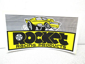 5 7 8 X 3 7 8 Rocket Racing Products Wheels Drags Mustang Sticker Vinyl Decal
