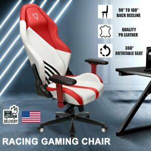 Ergonomic Gaming Chair Racing High Back Office Computer Recliner Seat Pu Leather