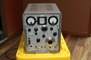 Hp 608d Signal Generator 1958 Fully Analog Restored Manual Included