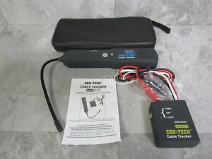 Cen tech 94181 Cable Tracker Line Tracer Circuit Tester W Case