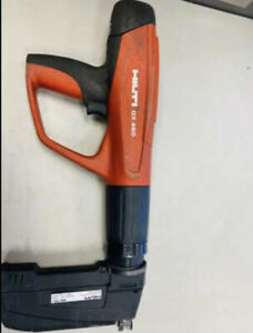 Hilti Dx 460 mx 72 Powder Actuated Tool Used