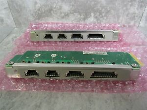 Lot Of 2 Ibm Surepos 700 4800 743 Sureport Four Rs 485 Upper I o Card 45t9084