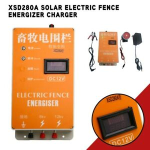 Electric Fence Energizer Charger Ranch Animals Raccoon Dog Horse Cattle Xsd280a