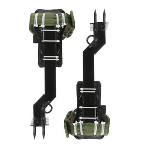 Tree Climbing Utensil Set Safety Rack Pedal Lanyard Rope Belt For Forest Camping