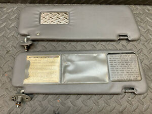 Toyota Truck 4runner Gray Sun Visor Right Left 1989 1995 1990 1991 1992 1993 94