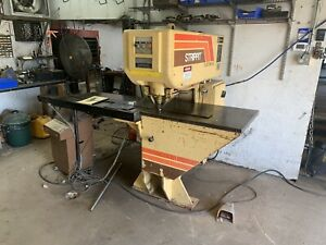 Strippet Cnc Custom Ag 18 30 Ton Punch Press With Tons Of Tooling