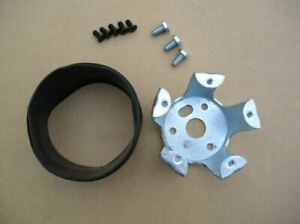 2 Rubber Spacer 5 Hole Steering Wheel To Fit Grant Forever Sharp 3 Hole Adapter