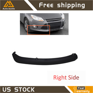 Fit For Ford Focus 2012 2014 Right Side Front Bumper Lower Lip Air Chin Spoiler