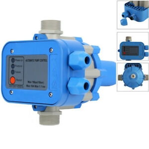 110v Automatic Water Pump Pressure Controller Electric Electronic Switch Us
