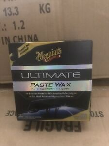 Meguiar s G18211 Ultimate Paste Wax 11 Oz Max Synthetic Protection Durability