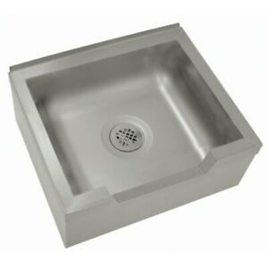 Advance Tabco 9 op 40df 20 X 16 X 12 Stainless Mop Sink Floor Mounted