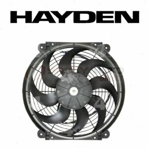 Hayden Engine Cooling Fan For 1992 2010 Dodge Viper Belts Clutch Motor Pl
