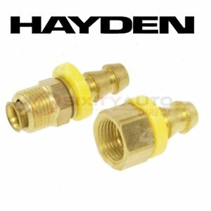 Hayden Oil Cooler Line Connector For 1971 Jeep J 4600 Automatic Ji