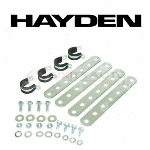 Hayden Oil Cooler Mounting Kit For 1960 Chevrolet Truck Automatic Ws