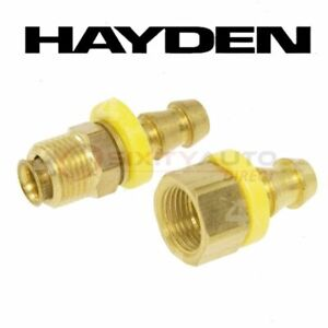 Hayden Oil Cooler Line Connector For 1971 Jeep J 100 Automatic Lg