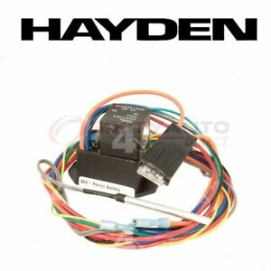 Hayden Engine Cooling Fan Controller For 1999 2015 Cadillac Escalade Belts If