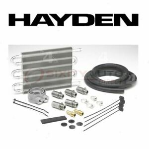 Hayden Engine Oil Cooler For 1970 2015 Dodge Challenger Belts Cooling Pj