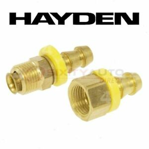 Hayden Oil Cooler Line Connector For 1971 Jeep J 2500 Automatic Fw