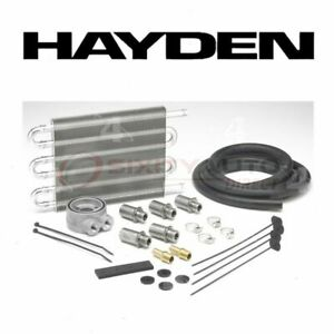 Hayden Engine Oil Cooler For 1951 1953 Plymouth Cambridge Belts Cooling Fk