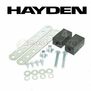Hayden Engine Oil Cooler Mounting Kit For 1989 1995 Plymouth Acclaim Belts Da