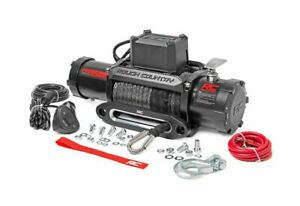 Rough Country 9500 Lb Electric Winch Recovery System W Synthetic Rope Pro9500s