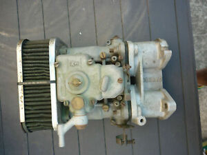 Vtg Weber 40 Dcoe 2 8f Carburetor Made In Italy Cannon Manifold Bmw 2002 M10