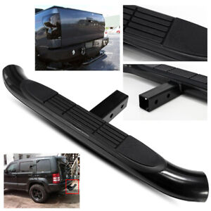 30 3 Tube Truck pickup suv Black Trailer Towing Hitch Step Bar For 2 Receiver