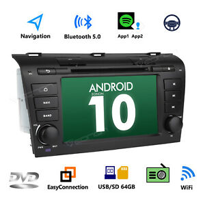 For Mazda 3 2004 2005 2006 2007 2008 2009 7 Car Dvd Stereo Gps Android 10 Dab L