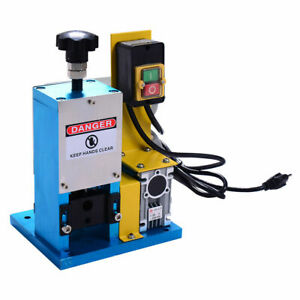 Powered Electric Wire Stripping Machine Metal Tool Scrap Cable Stripper