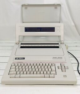 Smith Corona Electric Typewriter Word Processor Pwp 2000 Clean Works