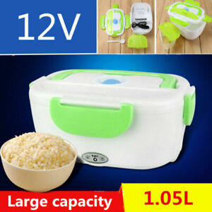Portable 1 05l Car Electric Heating Lunch Box Storage Container Food Warm Heater